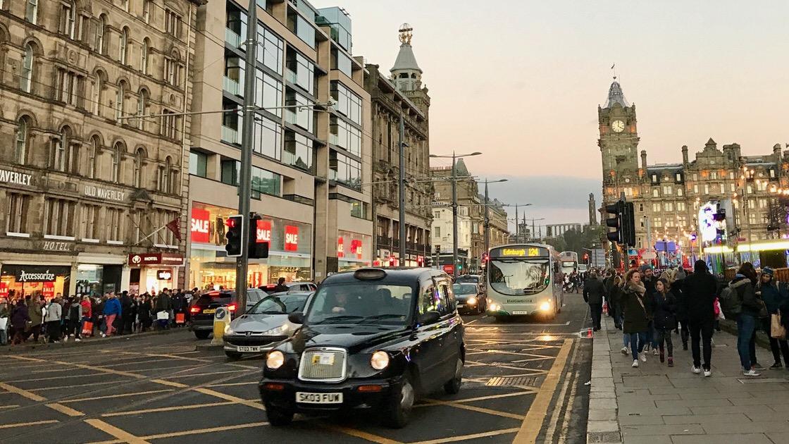 Edynburg, foto: T. Bobrowski