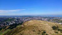 Arthur's Seat, Góra Artura w Edynburgu. Foto: M. Błażejczak