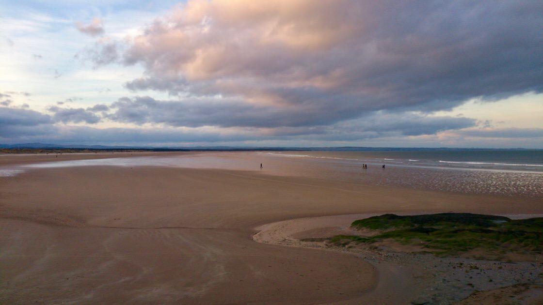 Plaża West Sands w Saint Andrews, foto: M. Błażejczak