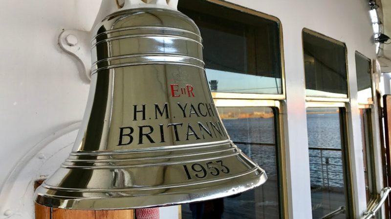 Dzwon na jachcie HMY Britannia. Foto: T. Bobrowski