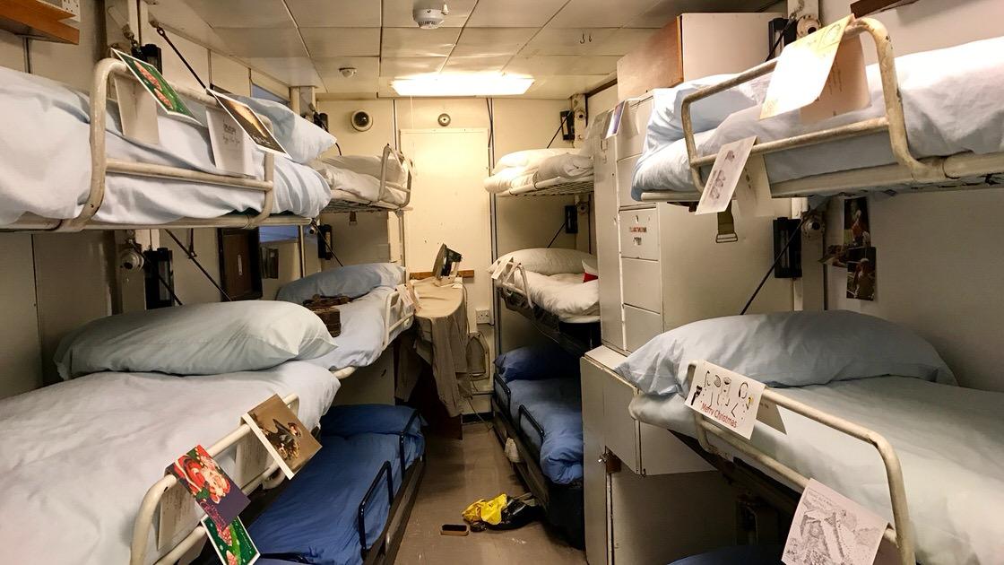 Pomieszczenia załogi. Foto: T. Bobrowski