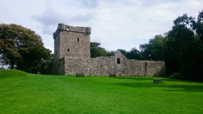 Loch Leven Castle, foto: M. Błażejczak