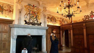 Królewskie komnaty na zamku w Edynburgu. Foto: T. Bobrowski