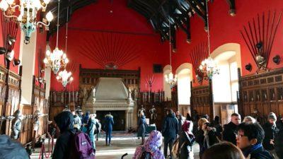 Wielka Aula, zamek w Edynburgu. Foto: T. Bobrowski