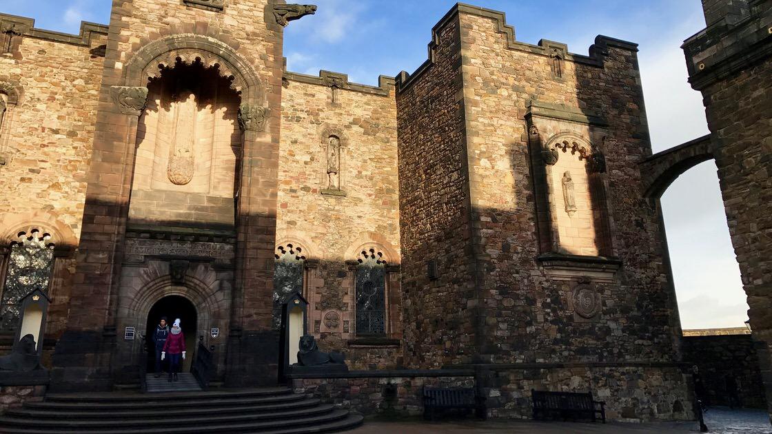 Scottish National War Memorial, zamek w Edynburgu. Foto: T. Bobrowski