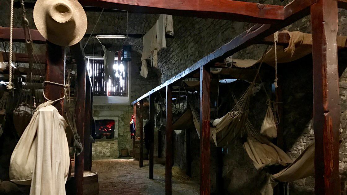 Więzienie na zamku w Edynburgu. Foto: T. Bobrowski