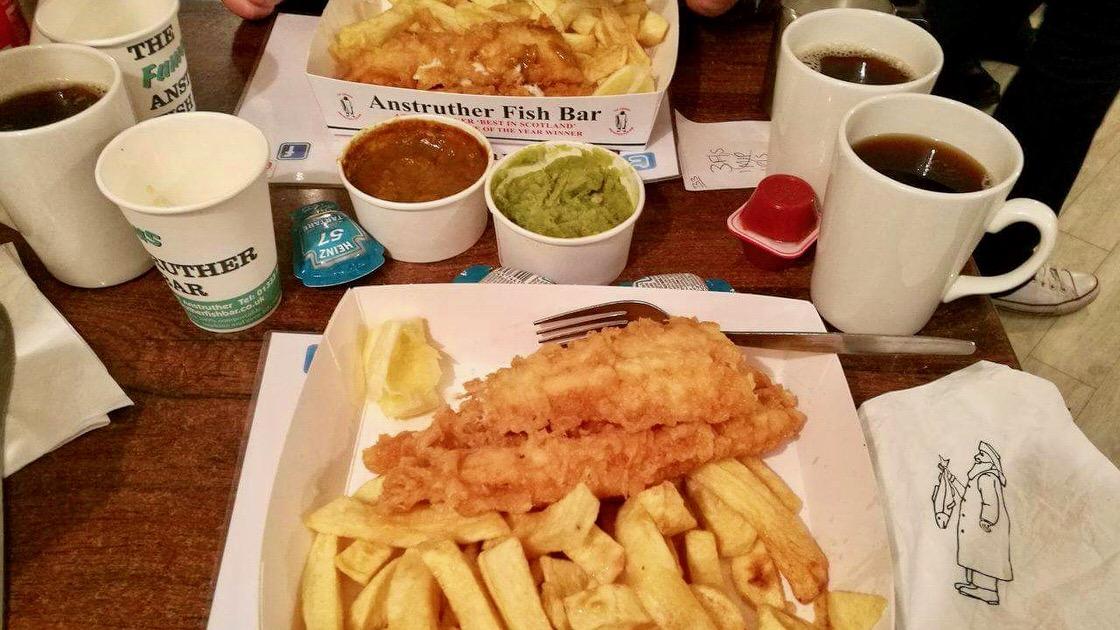 Fish and chips, foto: M. Błażejczak