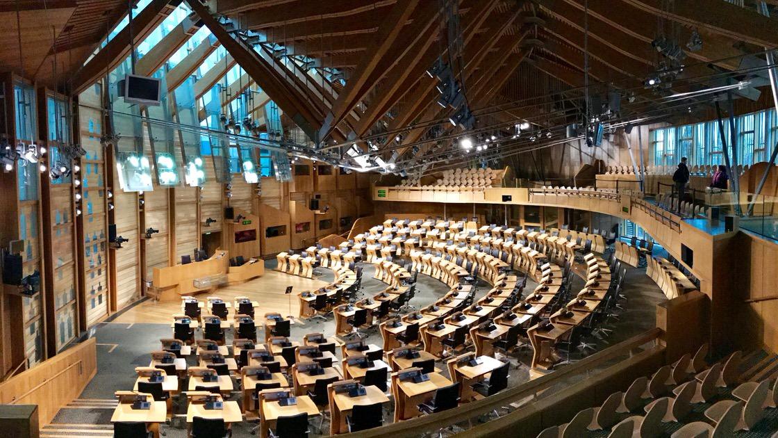 Parlament Szkocki, foto: T. Bobrowski