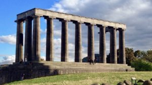 Calton Hill w Edynburgu: National Monument of Scotland. Foto: T. Bobrowski
