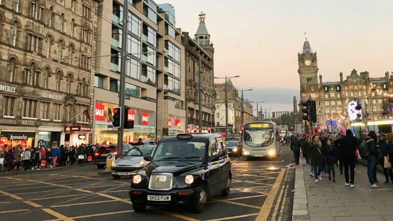 Nowe Miasto w Edynburgu, Princes Street. Foto: T. Bobrowski