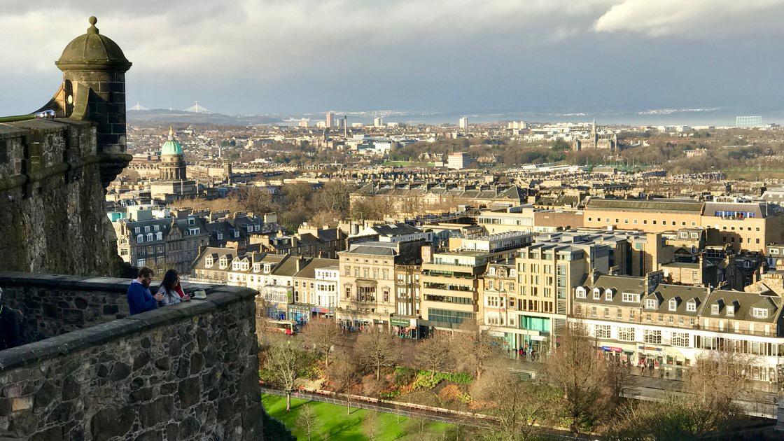 Nowe Miasto w Edynburgu. Foto: T. Bobrowski