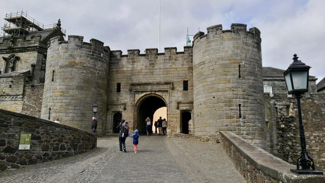 Zamek w Stirling, foto: M. Błażejczak