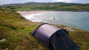 Biwak w Szkocji: Clashnessie Beach. Foto: M. Błażejczak