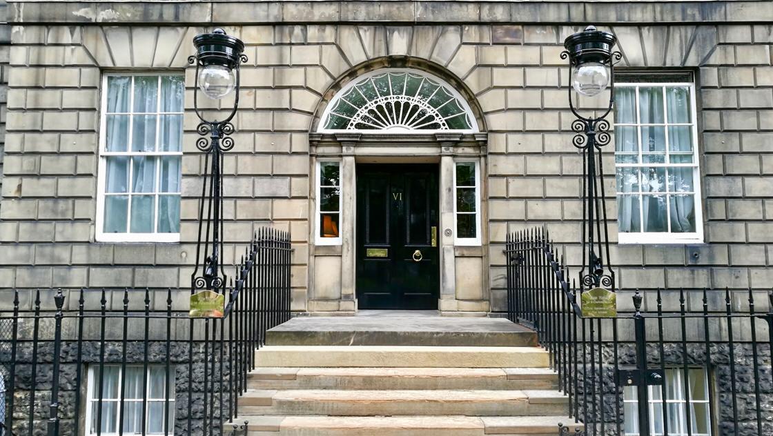 Rezydencja premiera - Bute House, Nowe Miasto w Edynburgu. Foto: M. Błażejczak