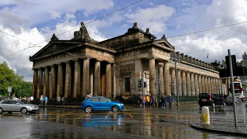 The Royal Scottish Academy, Nowe Miasto w Edynburgu. Foto: M. Błażejczak