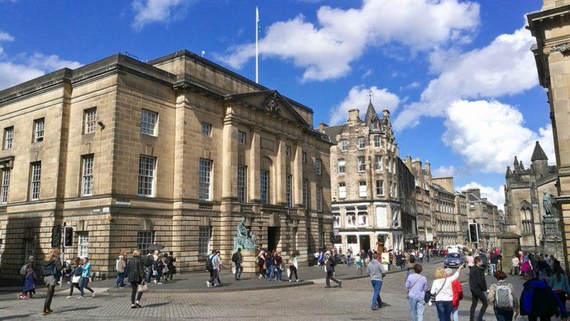 Stare Miasto w Edynburgu. Foto: M. Błażejczak
