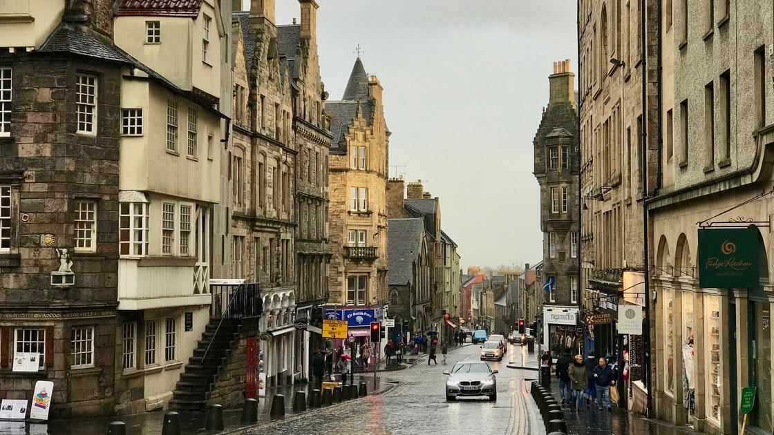 Stare Miasto w Edynburgu. Foto: T. Bobrowski