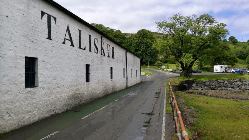 Destylarnia Talisker, Szkocja. foto: M. Błażejczak