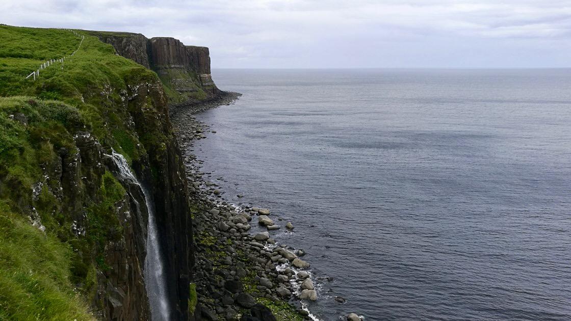Kilt Rock i Mealt Falls, Isle of Skye. Foto: M. Błażejczak
