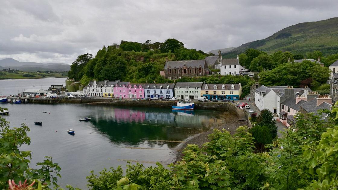 Portree, Isle of Skye. Foto: M. Błażejczak
