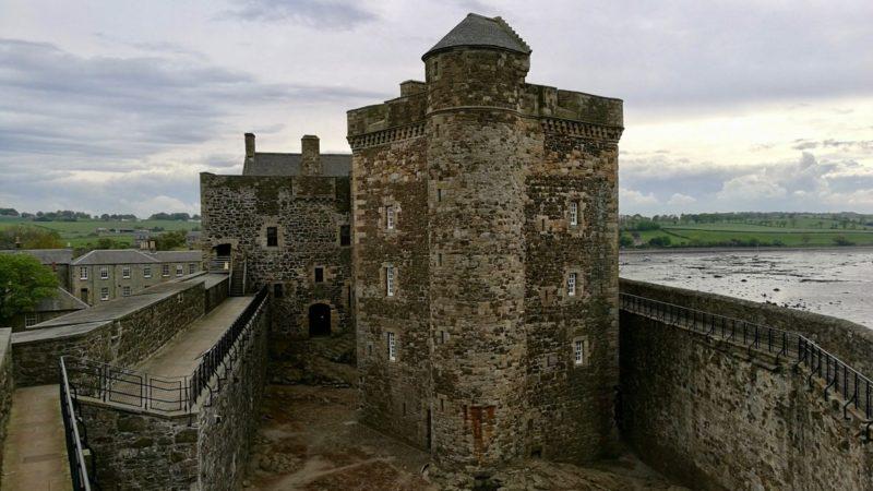 Blackness Castle, wieża centralna - główny maszt. Foto: M. Błażejczak
