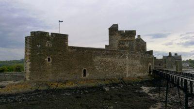 Blackness Castle, widok z przystani. Foto: M. Błażejczak