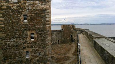 Blackness Castle, widok z murów. Foto: M. Błażejczak