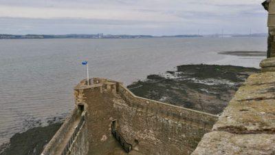 Blackness Castle, wieża północna - rufowa. Foto: M. Błażejczak