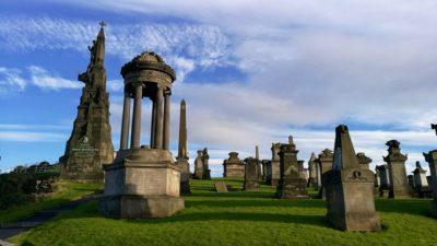 Nekropolia w Glasgow, foto: M. Błażejczak