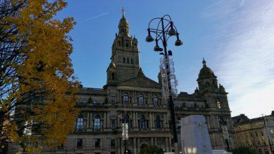 Ratusz w Glasgow, foto: M. Błażejczak