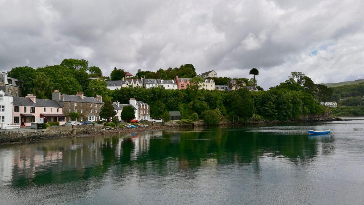 Portree, wyspa Skye. Foto: M. Błażejczak