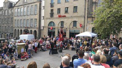 Festiwal w Edynburgu, foto: M. Błażejczak
