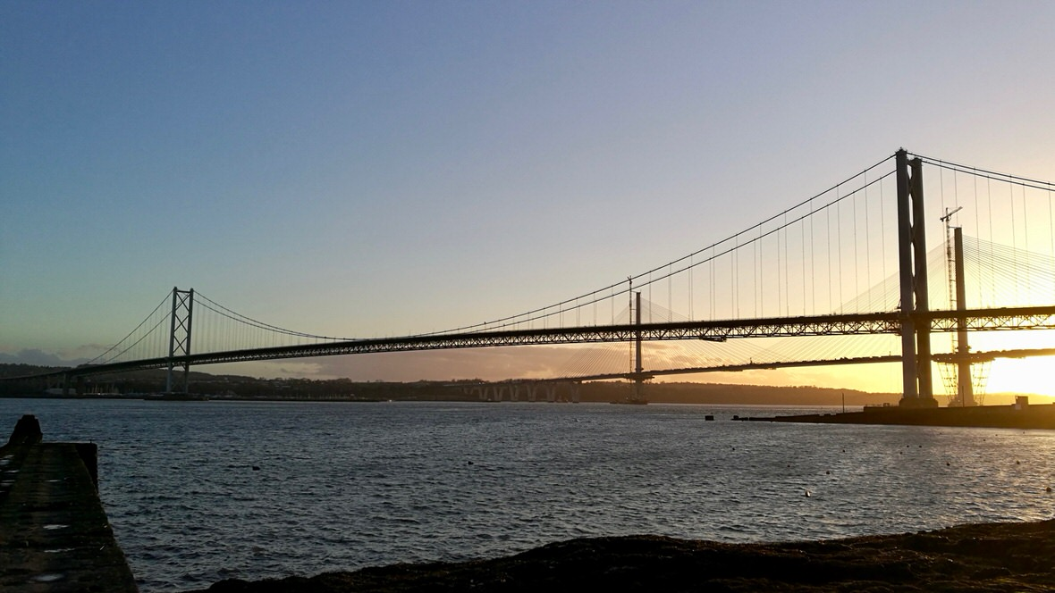 Forth Road Bridge, foto: M. Błażejczak