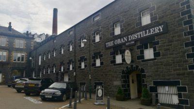 Destylarnia whisky w Oban, foto: M. Błażejczak