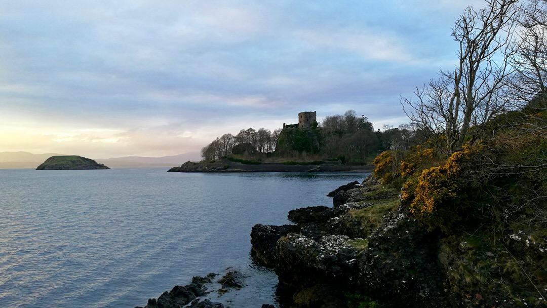 Zamek Dunollie, foto: M. Błażejczak