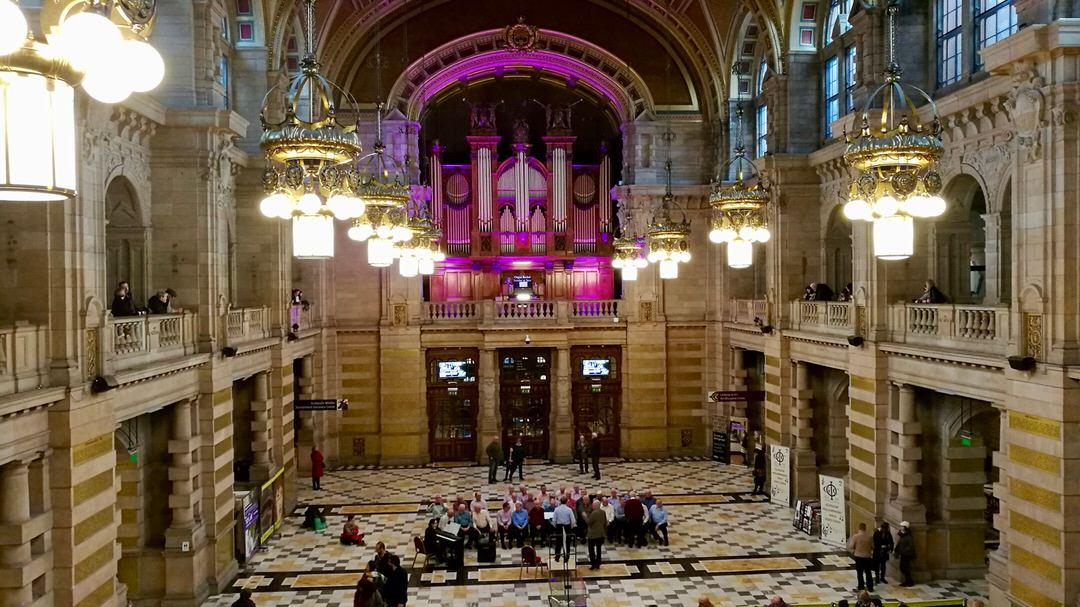 Kelvingrove Art Gallery and Museum w Glasgow, foto: M. Błażejczak