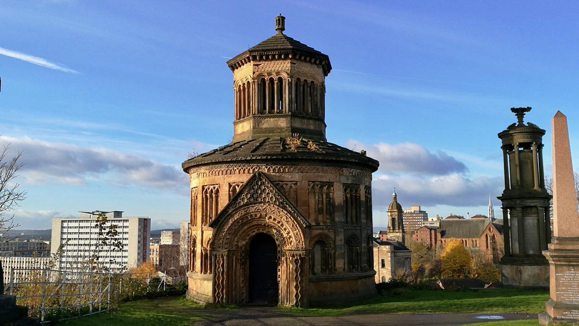 Necropolis w Glasgow, mauzoleum braci Monteath. Foto: M. Błażejczak