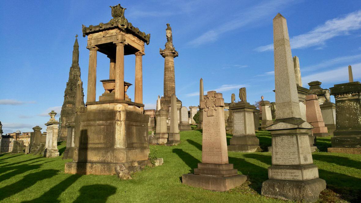 Necropolis w Glasgow, foto: M. Błażejczak