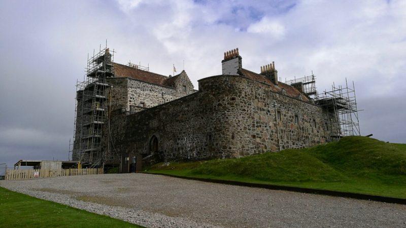 Duart Castle, zamek w Szkocji. Foto: M. Błażejczak