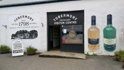 Tobermory Distillery na wyspie Mull w Szkocji. Foto: M. Błażejczak