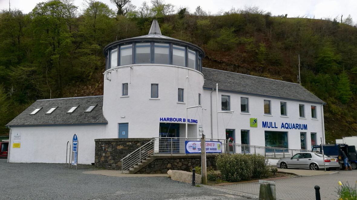 Mull Aquarium w Tobermory, foto: M. Błażejczak