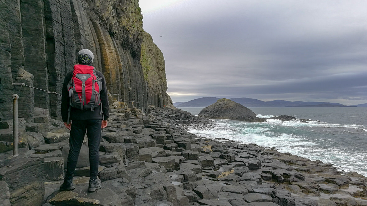Wyspa Staffa, Szkocja. Foto: M. Błażejczak