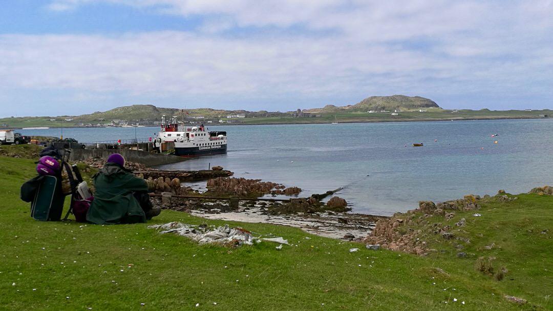 Widok z Fionnphort na Iona, Szkocja. Foto: M. Błażejczak