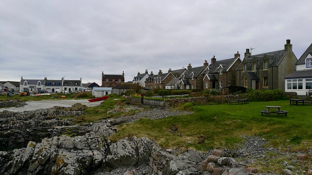 Wyspa Iona, miasteczko Baile Mor, Szkocja. Foto: M. Błażejczak