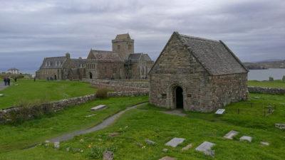 Kaplica św. Otterana, Opactwo Iona, Szkocja. Foto: M. Błażejczak
