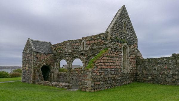 Ruiny zakonu Augustianek, Opactwo Iona, Szkocja. Foto: M. Błażejczak