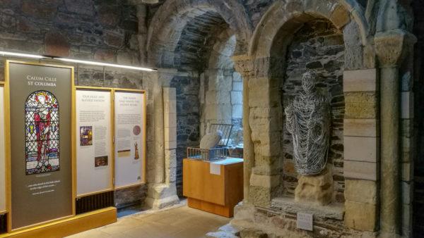 Pomnik św. Kolumby, Opactwo Iona, Szkocja. Foto: M. Błażejczak