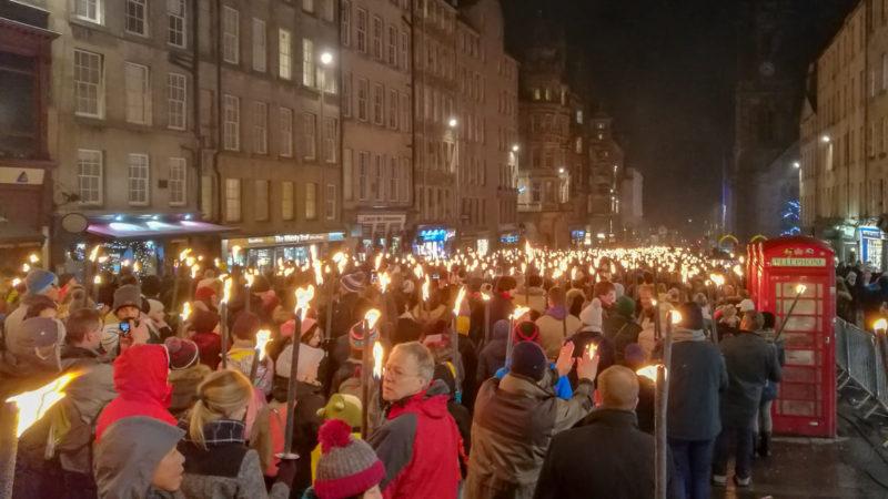 Sylwester w Szkocji, foto: M. Błażejczak