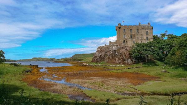 Zamek Dunvegan, Szkocja, Foto: M. Błażejczak