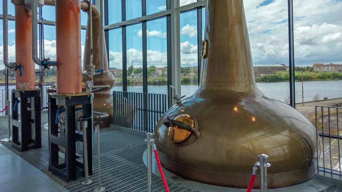 Clydeside Distillery, foto: M. Błażejczak